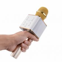 Беспроводной караоке микрофон WSTER Q7 Gold Original Bluetooth: 4.0