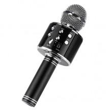 Беспроводной микрофон караоке GTM WS858 Bluetooth 4.0 Black