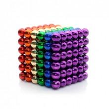 Головоломка развивающий конструктор Neocube Радужный  216 magnets